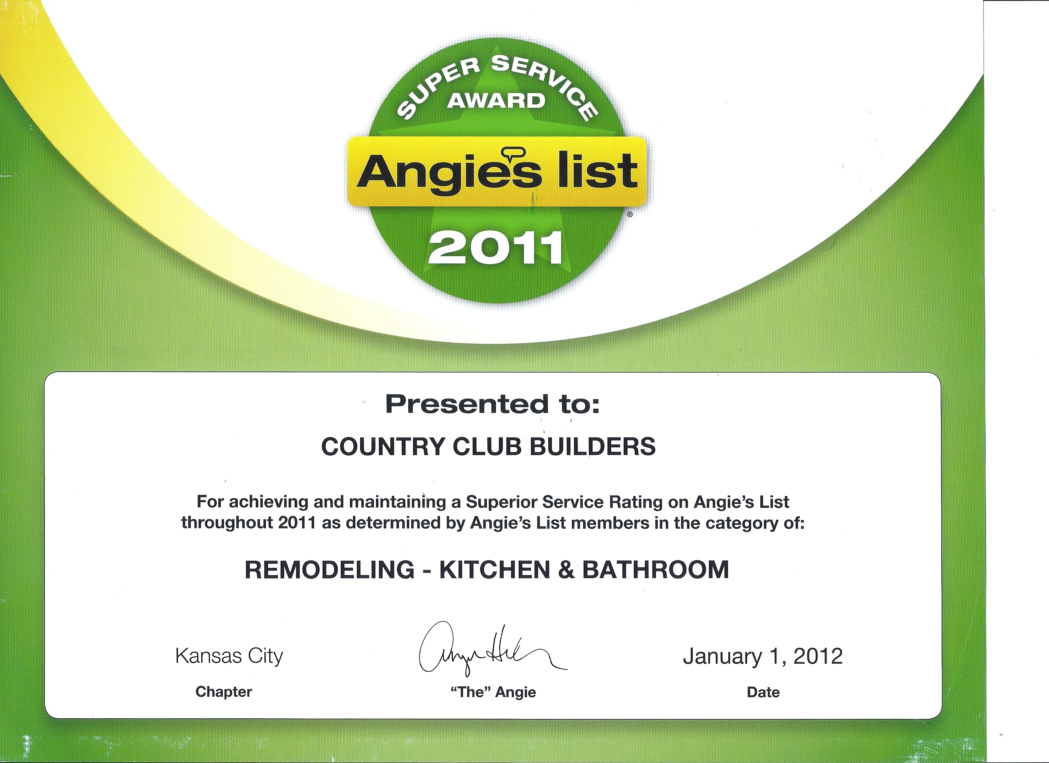 Certification country club builders angies list membership for country club builders xflitez Images